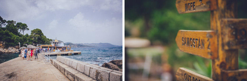 Lokrum island wedding 082