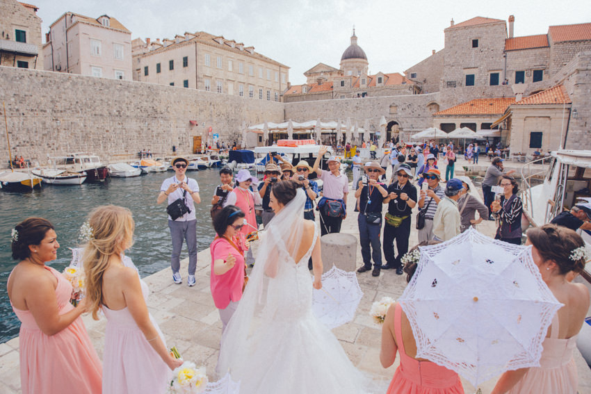 Lokrum island wedding 116