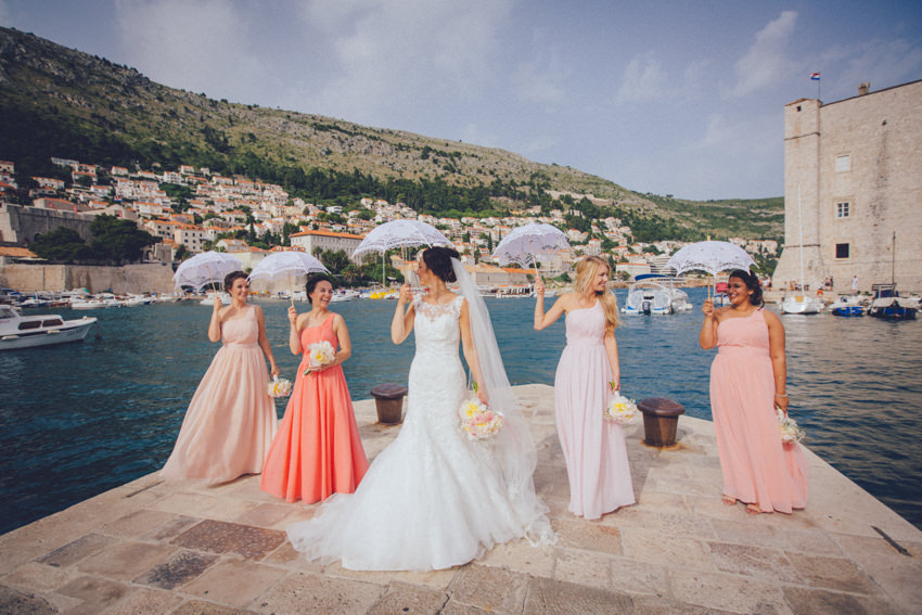 Lokrum island wedding 117