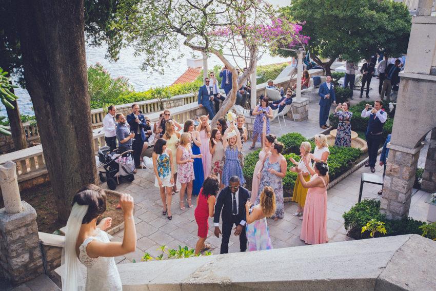 Lokrum island wedding 133