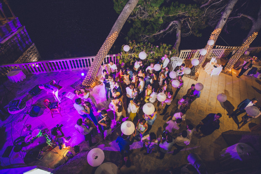 Lokrum island wedding 164