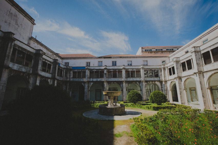Museu Nacional do Azulejo quintal