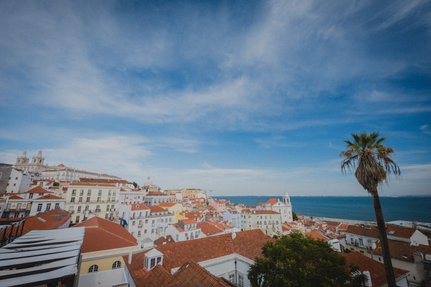 view from Alfama viewpoint