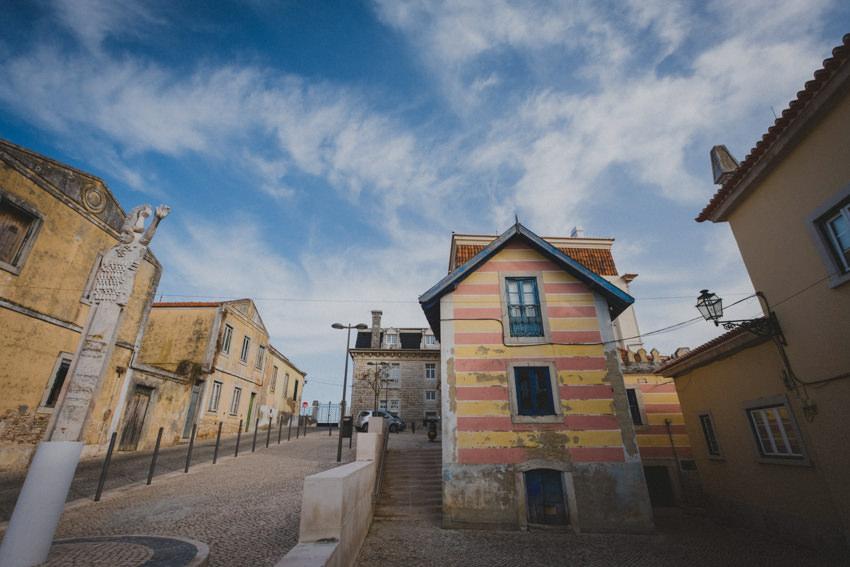 Cascais colorful house