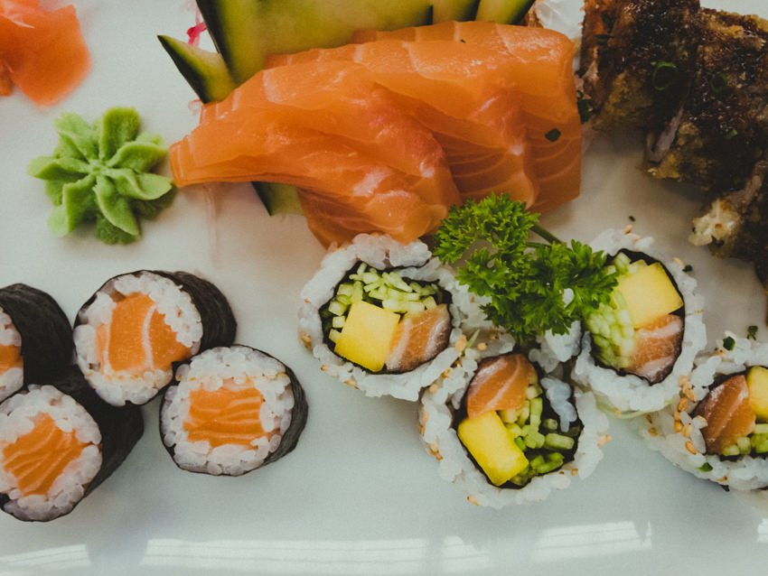 sushi in Timeout market