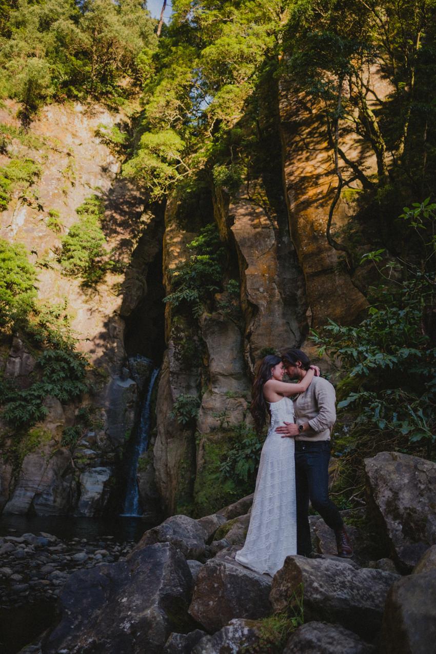 São Miguel waterfall