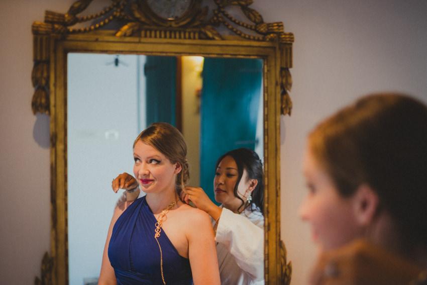 second bridesmaid
