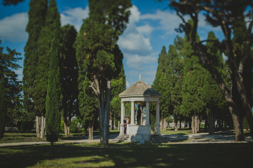 park Sustipan in Split