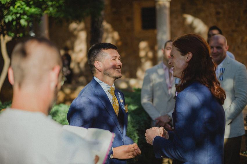 same sex marriage ring exchange