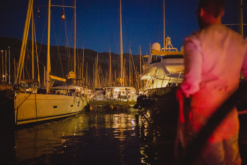 docking at ACI marina