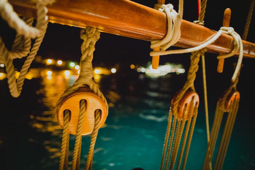 karaka detail at night