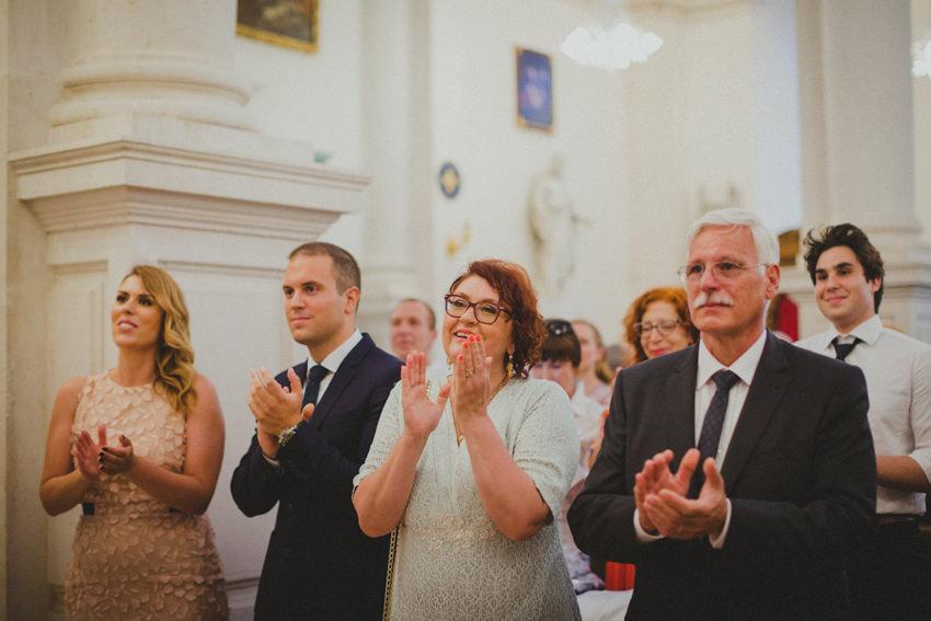 guests applauding