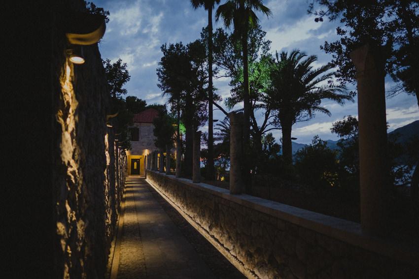 Villa Ruža entryway