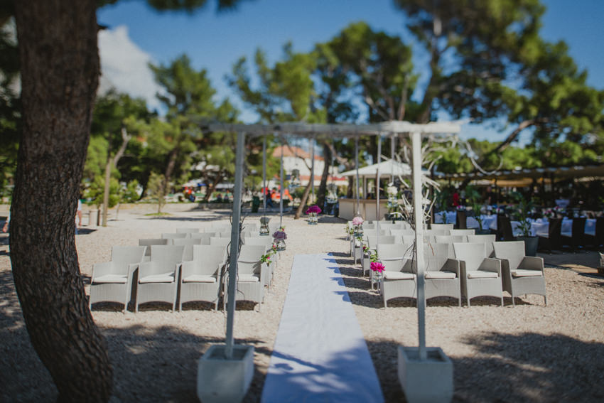 Makarska wedding on a beach