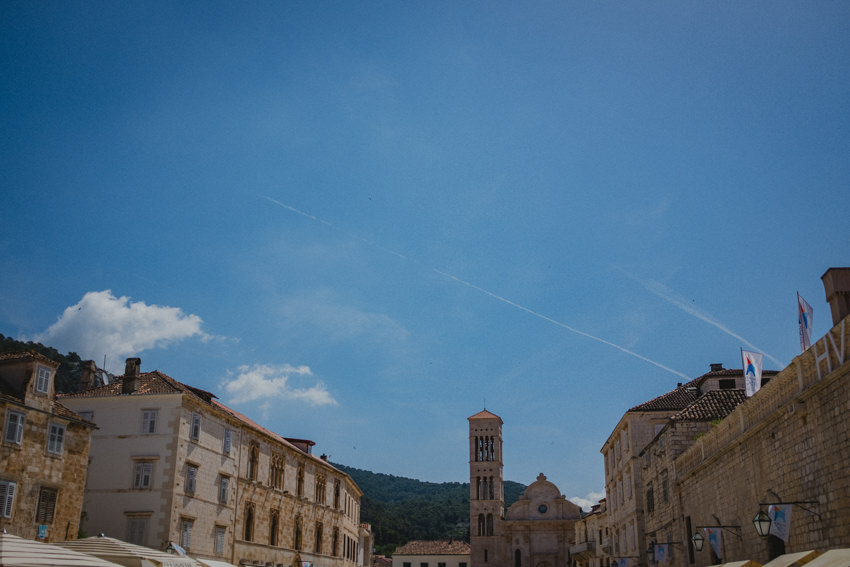 main square on Hvar
