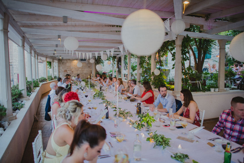 dinner reception