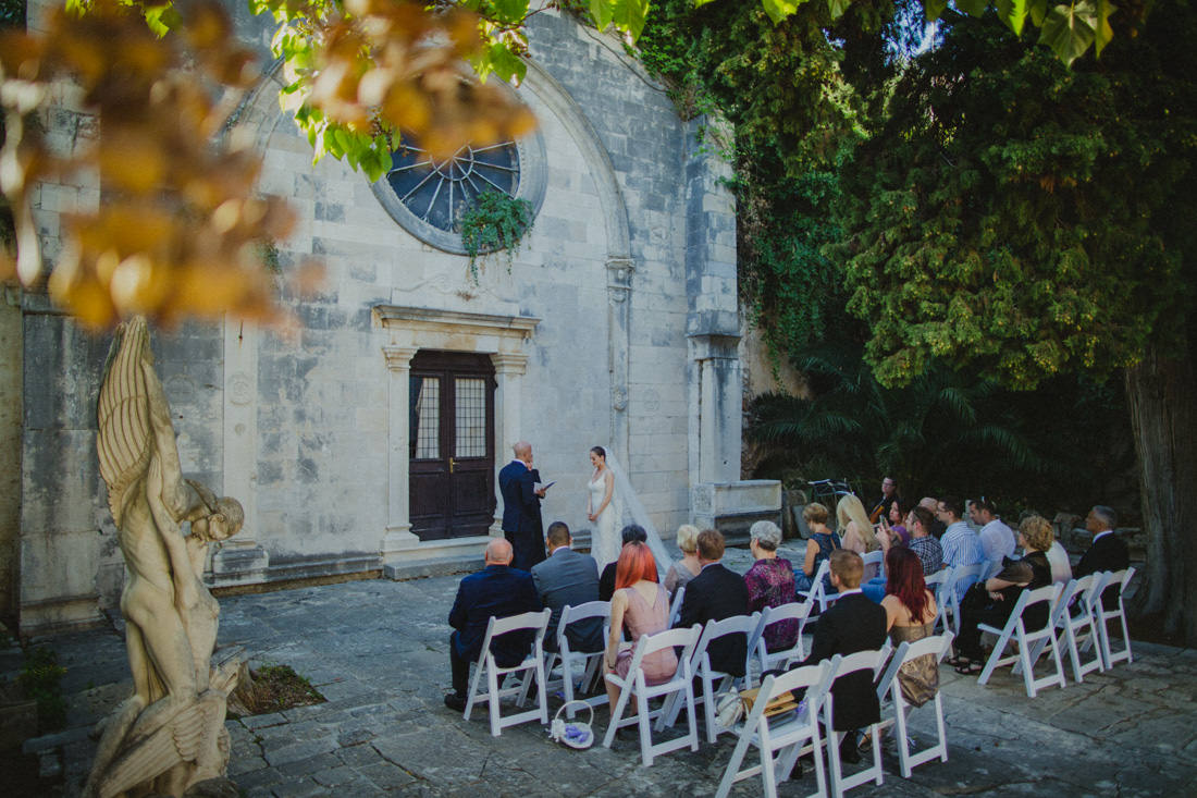 ceremony venue in town of hvar