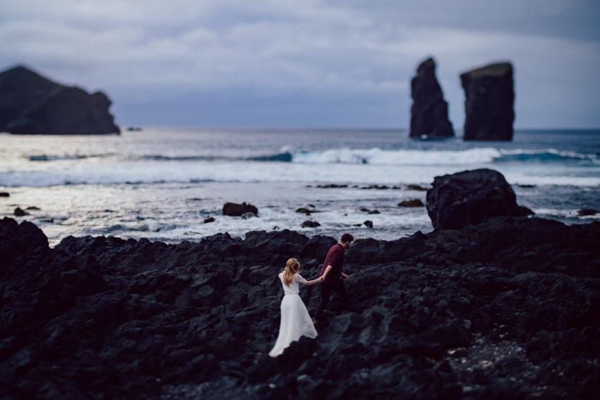 mosteiros beach wedding