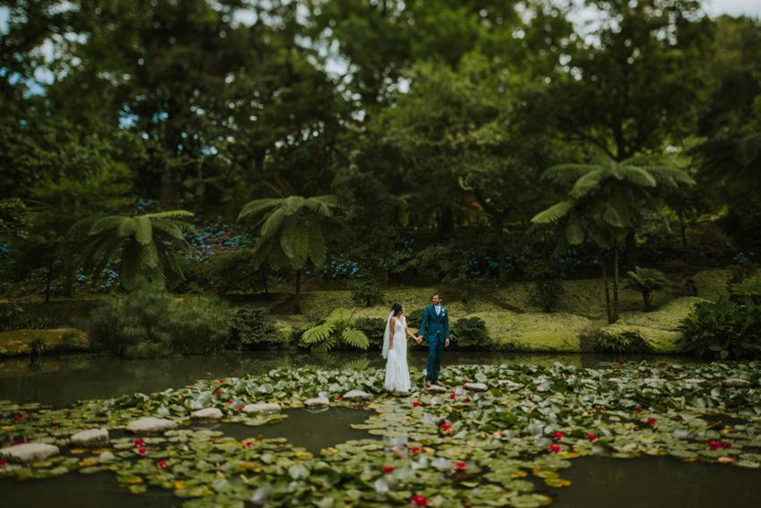 parque terra nostra wedding