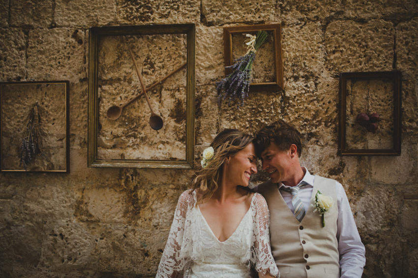 old town korcula wedding